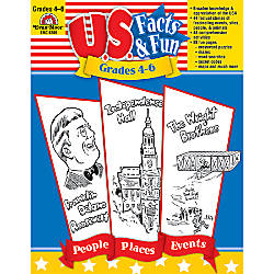 Evan Moor US Facts Fun Grades