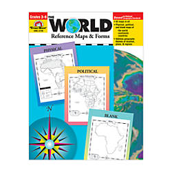 Evan Moor The World Reference Maps