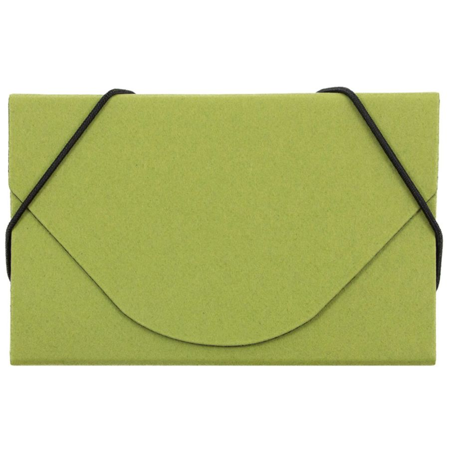Merveilleux JAM Paper Business Card Case With Elastic Closure Lime Green By Office  Depot U0026 OfficeMax