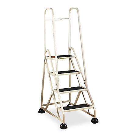 Cramer Stop Step 1043 Aluminum Double Handrail Step Ladder