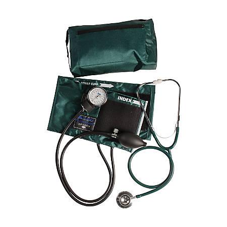MABIS MatchMates® Home Blood Pressure Kit, Hunter Green