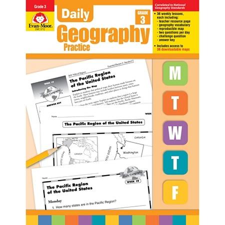 Evan-Moor® Daily Geography Practice, Grade 3 Item # 524555