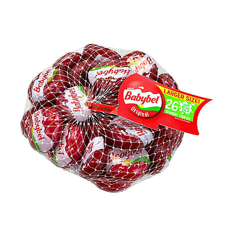 Babybel Mini Original Cheese, Pack Of 26
