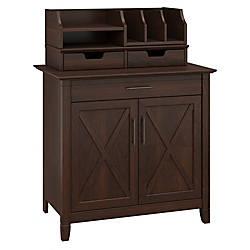 Bush Furniture Key West Laptop Storage
