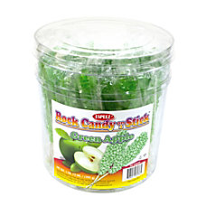 Espeez Rock Candy Sticks 7 Green