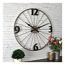 FirsTime Co Bicycle Wheel Round Wall