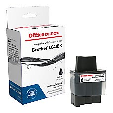 Office Depot Brand R LC41BKS Brother