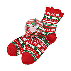 Little Blue House Holiday Socks And
