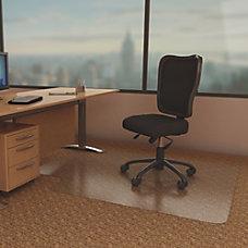 deflecto Economat Chairmats Carpeted Floor 53