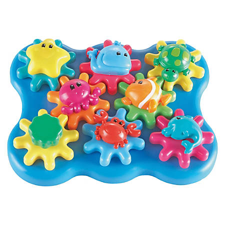 Learning Resources Jr Gears Under Sea Building Set - Theme/Subject: Learning - Skill Learning: Fine Motor, Building, Thinking, Creativity