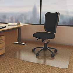 Deflecto Economat for Carpet Carpeted Floor
