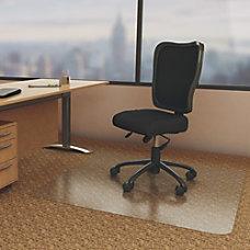 deflecto Economat Chairmats Carpeted Floor 60
