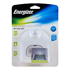 Energizer LED Motion Activated Outdoor Security
