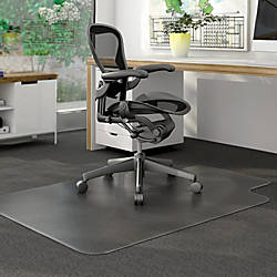deflecto Duramat Chairmats Carpeted Floor 60