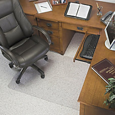 Deflecto Glass Clear Chair Mat For