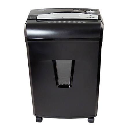 Aurora High-Security JamFree 8-Sheet Micro-Cut Shredder With Pullout Wastebasket, AU850MA