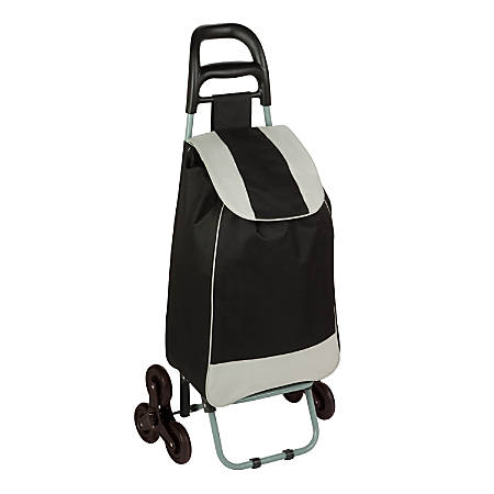 "Honey-can-do Carrying Case (Roller) Travel Essential - Black - Weather Resistant - 420D Polyester - Handle - 39.4"" Height x 6.7"" Width x 17.3"" Depth"