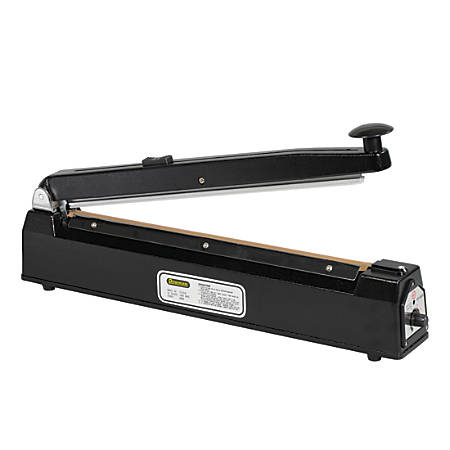 Partners Brand Impulse Sealer with Cutter, 16""