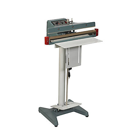 Partners Brand Wide Seal Foot Operated Impulse Sealer, 12""