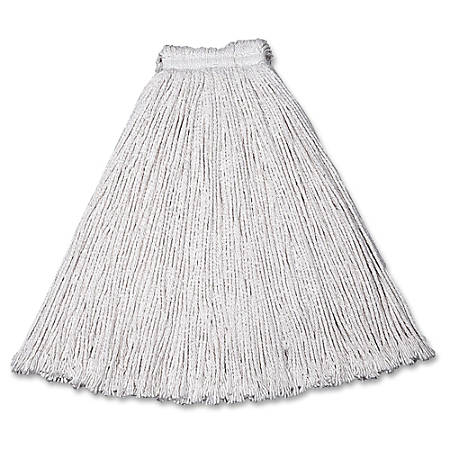 "Rubbermaid® Commercial Value-Pro™ Cotton Mop Head, Size #16, 1"" Band"