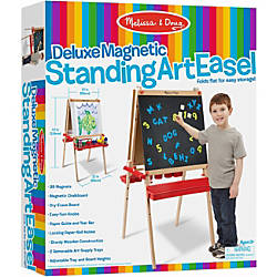 Melissa Doug Deluxe Floor EaselMagnetic Board