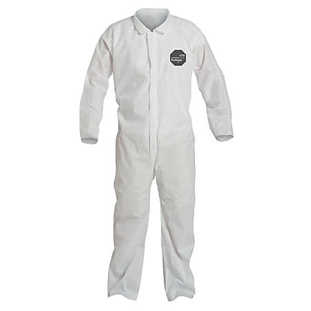 DuPont™ Proshield® 10 Coveralls, X-Large, White, Pack Of 25