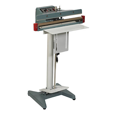 Partners Brand Wide Seal Foot Operated Impulse Sealer, 18""