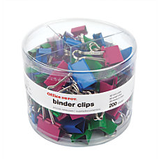 Office Depot Brand Binder Clip Combo