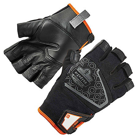 Ergodyne ProFlex 860 Heavy Lifting Utility Gloves, XXL, Black