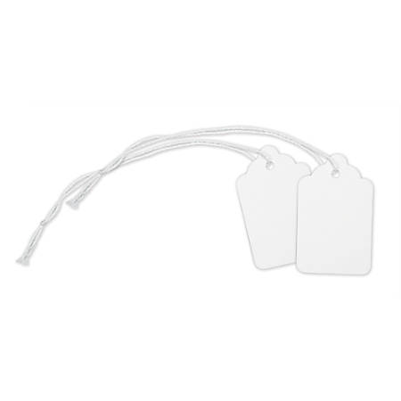 """Office Depot® Brand Merchandise Tags, Size 5, 1.09"""" x 1.75"""", White, Pack Of 500"""