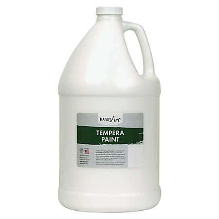 Handy Art Premium Tempera Paint Gallon - 1 gal - 1 Each - White