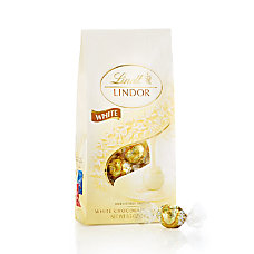Lindor Chocolate Truffles White Chocolate 85