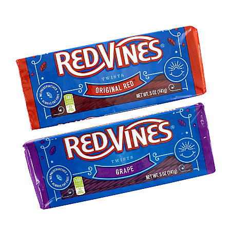 Red Vines Variety Tray Box, 5 Oz, Pack Of 6