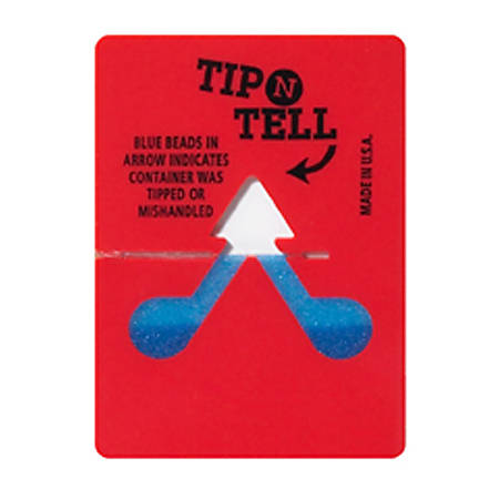 Tip-N-Tell Indicator, Case of 100