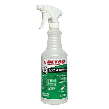 Betco® AF79 Spray Bottles, 32 Oz., Pearlized, Case Of 12