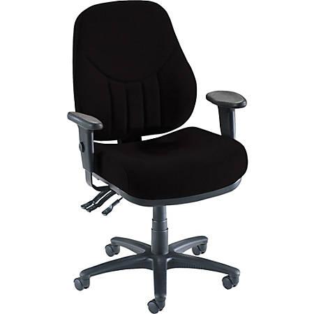 Lorell® Baily Series High-Back Multi-Task Chair, Black
