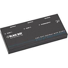 Black Box DVI D Splitter with