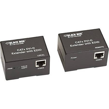Black Box CATx DVI-D with DDC SL Extender Kit - 1 Input Device - 1 Output Device - 164.04 ft Range - 2 x Network (RJ-45) - 1 x DVI In - 1 x DVI Out - WUXGA - 1920 x 1200 - Twisted Pair - Category 6