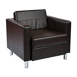 Ave Six Pacific Arm Chair EspressoChrome