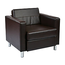 Ave Six Pacific Arm Chair EspressoChrome