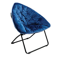 Brenton Studio Velvet Plush Chair Assorted