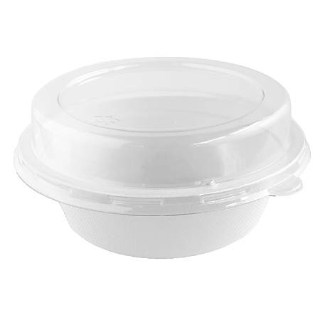 StalkMarket PET Dome Lids, For 16 Oz Bowls, Clear, Pack Of 200 Lids