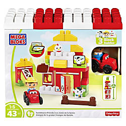 Mega Bloks Farmhouse Friends Building Blocks