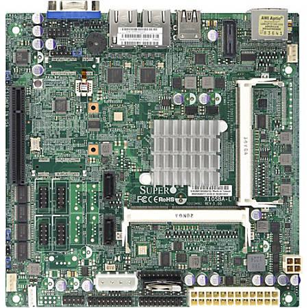 Supermicro X10SBA-L Server Motherboard - Socket BGA-1170 - Intel Celeron J1900 Dual-core (2 Core) 2.42 GHz - Retail Pack