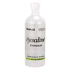 1 OZ EYEWASH STERILE BOTTLED PERSONAL