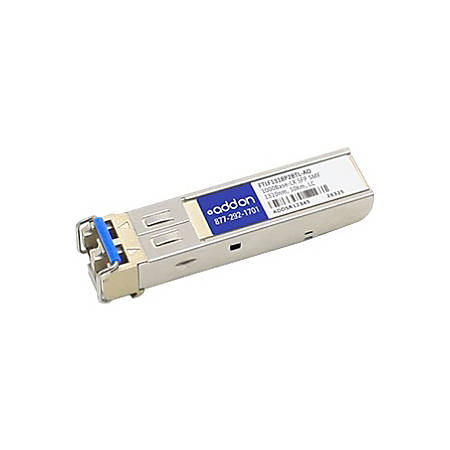 AddOn Finisar FTLF1318P2BTL Compatible TAA Compliant 1000Base-LX SFP Transceiver (SMF, 1310nm, 10km, LC)