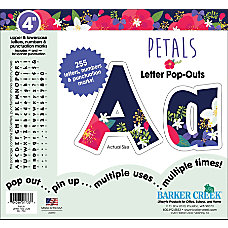 Barker Creek Letter Pop Outs 4