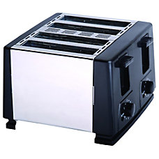 Brentwood Toaster Toast Brushed Stainless Steel