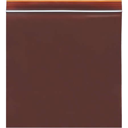 "Minigrip Reclosable Lab Guard UV Protection Bags 3 Mil, 4"" x 6"", Box of 1000"
