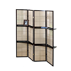 Monarch Specialties Sheila 4 Panel Folding